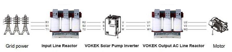 AC LINE REACTOR FOR SOLAR VFD
