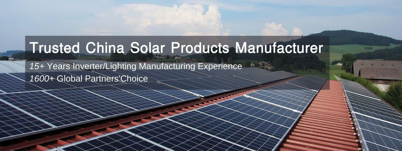 Trusted China Solar Products Manufacturer